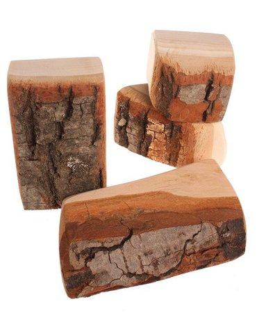 Klocki imitujące drewno, kolekcja naturalna 3+, Grimm's