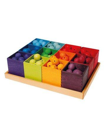Pudełka do sortowania 3+, kolorowe, Grimm's