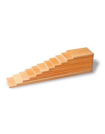Drewniane Płyty do budowania, kolekcja naturalna 1+, Grimm's