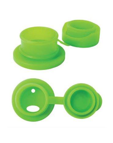 Termobutelka Sport z zieloną osłonką 475 ml, Pura Kiki