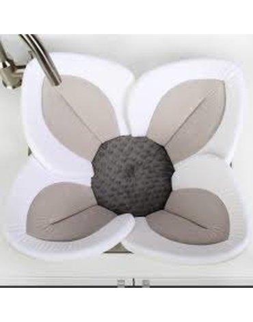 Wkładka do kąpieli, Kwiat Lotosu, szary, Blooming Bath