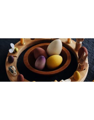 Drewniana figurka, Ośmiornica, Grimm's