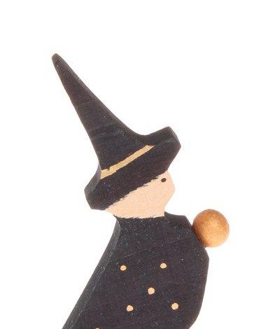Drewniana figurka, Czarodziej, Grimm's