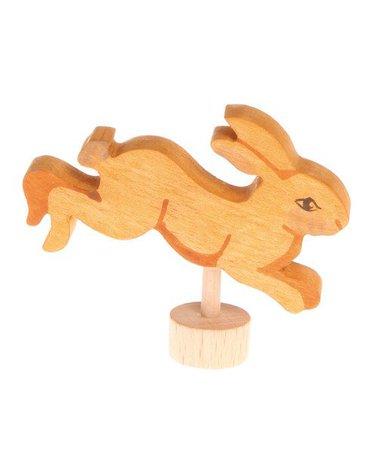 Drewniana figurka, Skaczący Króliczek, Grimm's