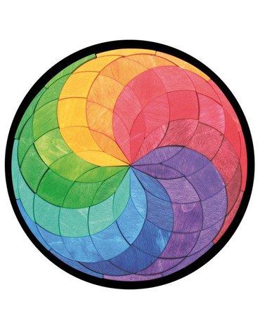 Układanka Magnetyczna, okrągła, Grimm's