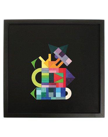 Tablica Magnetyczna 50x50 cm, Grimm's