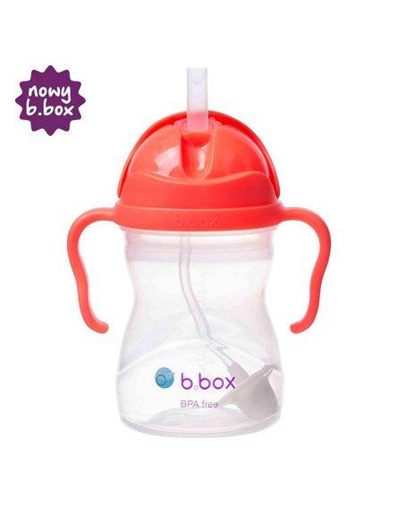 b.box Bidon ze słomką 240 ml, arbuzowy,