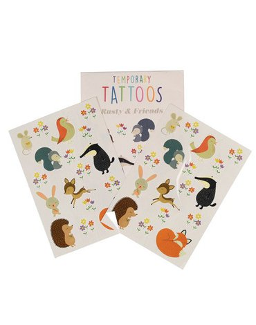 Tatuaże zmywalne dla dzieci, Przyjaciele, Rex London