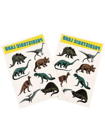 Tatuaże zmywalne dla dzieci, Dinozaury, Rex London