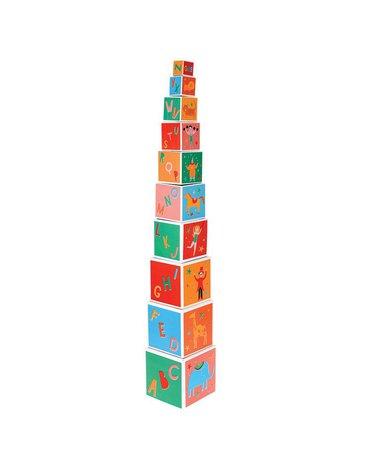 Piramida/Wieża z kostek, Cyrk, Rex London