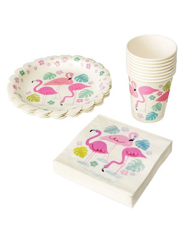 Kubki papierowe 8 szt., Flamingo Bay, Rex London