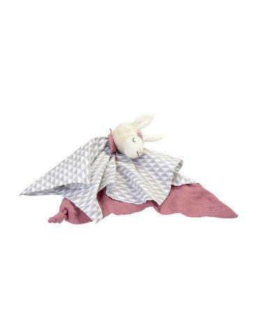 Przytulanka-pieluszka dla dziewczynki, Lama, Kikadu