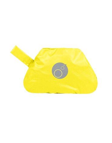 b.box Fartuszek-śliniaczek wodoodporny z rękawami, Lemon Sherbert,