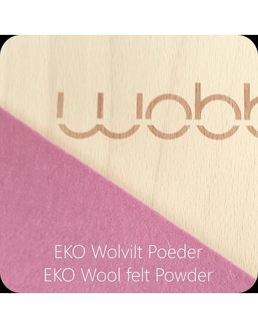 Deska do balansowania Original z filcem, Powdery Pink, Wobbel