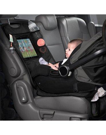 Mata ochronna do samochodu z miejscem na tablet do fotelików tyłem i przodem do kierunku jazdy, Lulyboo