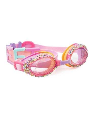 Okulary do pływania, Sweet, różowe, Bling2O