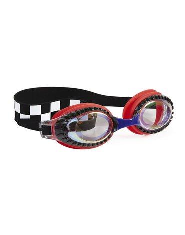 Okulary do pływania, Wyścigi, czerwone, Bling2O