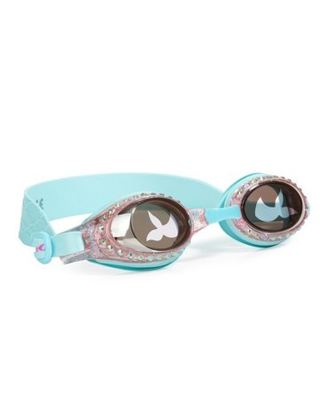 Okulary do pływania, Syrenka, Turkus, Bling2O