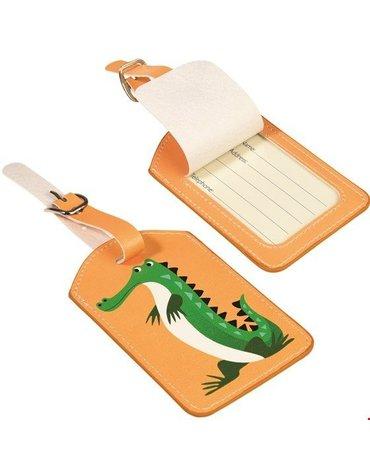 Zawieszka na bagaż, Krokodyl, Rex London