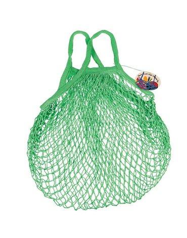 Siatkowa torba na zakupy, ciemna zieleń, Rex London