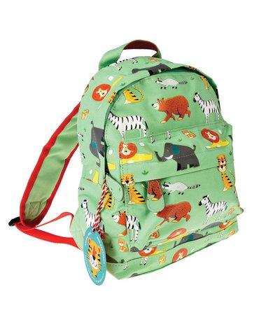 Plecak mini, Zwierzątka zielone, Rex London