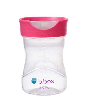 b.box Kubek treningowy 240 ml, malinowy,