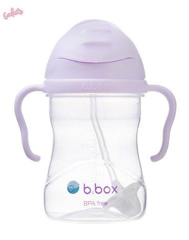 b.box Bidon ze słomką 240 ml, Gelato Boysenberry,