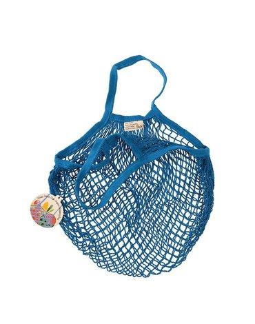 Siatkowa torba na zakupy, niebieska, Rex London