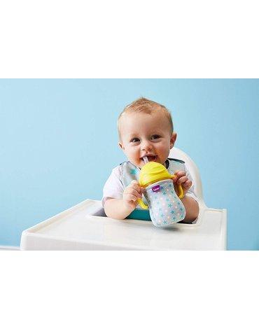 Śliniak dla niemowlaka w saszetce, Star Burst, b.box