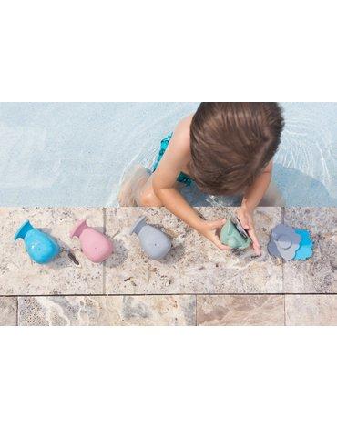 Wieloryb i żółw do kąpieli z naturalnego kauczuku, HEVEA