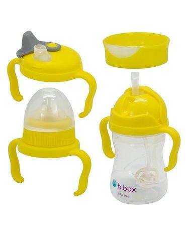 b.box Kubek 4w1 zestaw 240 ml, cytrynowy,