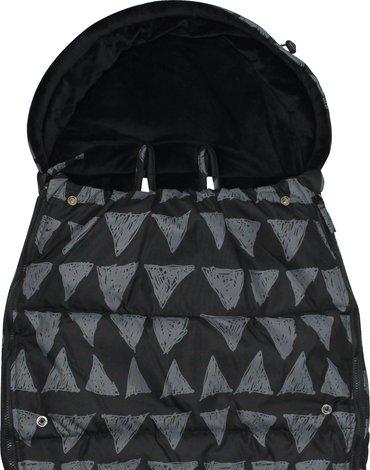 Xplorys - Śpiworek do wózka Dooky Black Tribal 6-36m