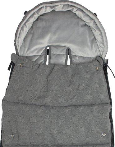 Xplorys - Śpiworek do wózka Dooky Knitted Star 6-36m