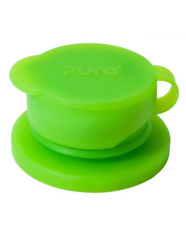Ustnik Sport do butelek, zielony, Pura
