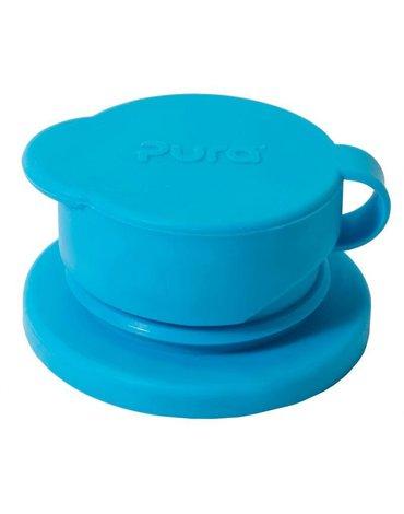 Ustnik Sport do butelek, niebieski, Pura