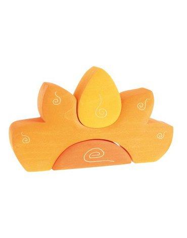 Kształty słoneczne 1+, żółty, Grimm's