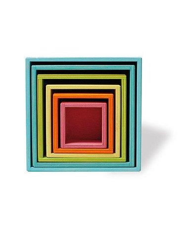 Drewniane Pudełka 0+, pastelowe, Grimm's