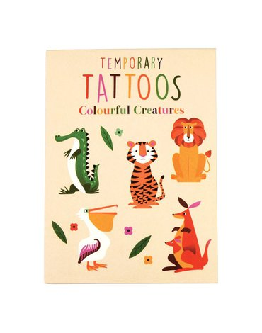 Tatuaże zmywalne dla dzieci, Zwierzaki, Rex London