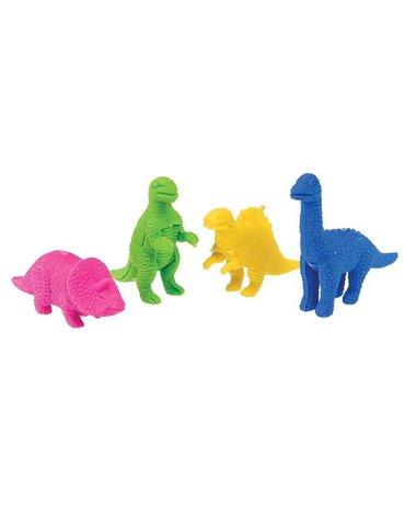 Gumki do zmazywania 4 szt., Dinozaury, Rex London