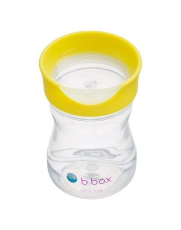 b.box Kubek treningowy 240 ml, cytrynowy,