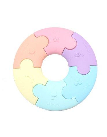 Jellystone Designs - Pierwsze puzzle sensoryczne, pastelowe kółko, Jellystone Design