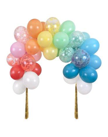 Meri Meri - Girlanda balonowa-łuk Tęczowa
