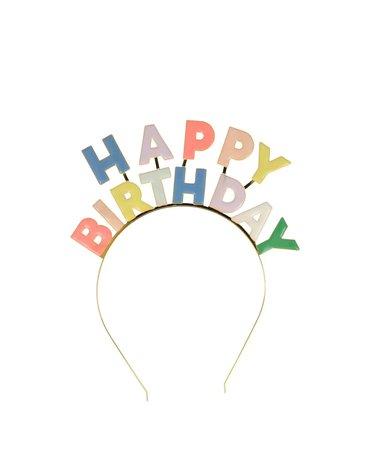producent niezdefiniowany - Opaska do włosów Happy Birthday