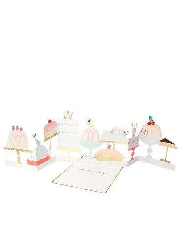producent niezdefiniowany - Kartka okolicznościowa 3D Cukiernia