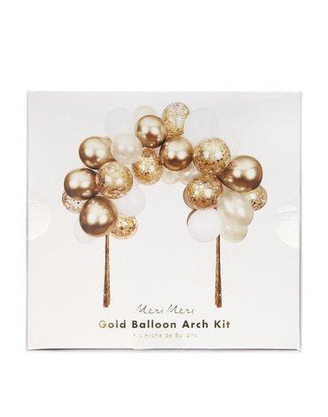 Meri Meri - Girlanda balonowa-łuk Złota