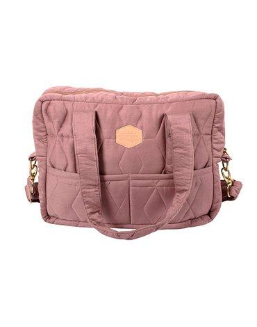 FILIBABBA - Nursing bag soft quilt, Wild rose