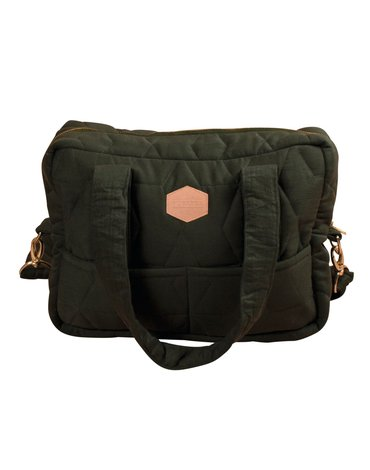 FILIBABBA - Nursing bag soft quilt, Wild green