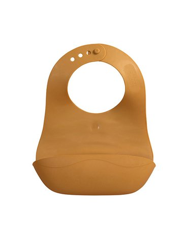 FILIBABBA - Foldable bib, Golden mustard