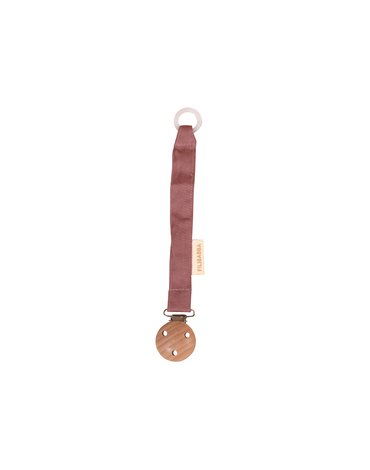 FILIBABBA - Pacifier holder, Dusty rose