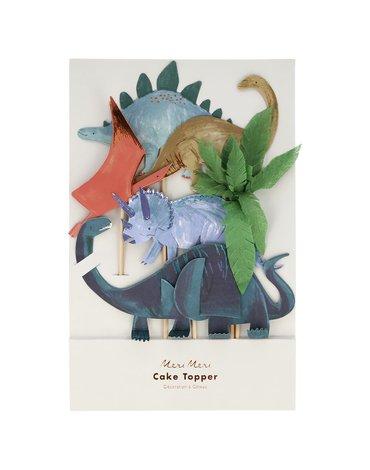 Meri Meri - Topper na tort Królestwo dinozaurów